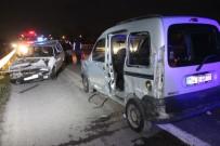 ACıSU - TEM'de Kaza Açıklaması6 Yaralı