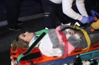 ACıSU - TEM Otoyolu'nda Hafif Ticari Araçla Otomobil Çarpıştı Açıklaması6 Yaralı
