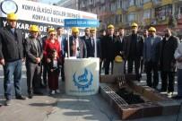 ÖZELLEŞTIRME - Temsili Mezara Kömür Döküp Madendeki İş Kazalarına Dikkat Çektiler