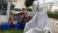 MAHMUTLAR - Alanya'da Hortum Ve Sağanak Yağış Hayatı Felç Etti