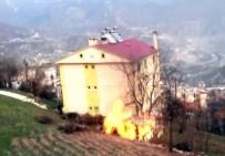 ARTVİN BELEDİYESİ - Artvin'de Korkutan Yangın