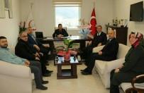 EVLİYA ÇELEBİ - Başhekim Eraslan'a 'Hayırlı Olsun' Ziyareti
