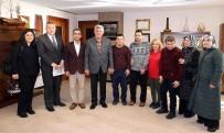 EĞITIM İŞ - Başkan Karaosmanoğlu, Engelli Öğrencileri Kabul Etti