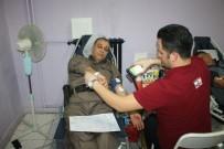 MEHMET ÖZKAN - Beyşehir'de Jandarmadan Kızılay'a Kan Bağışı
