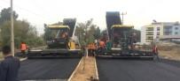 ÇAMKÖY - Büyükşehirin Yol Hamlesi Devam Ediyor
