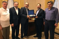 İSLAMOFOBİ - Diyanet İşleri Başkanı Erbaş, İİT Nezdinde Türkiye Daimi Büyükelçisi Şen'i Ziyaret Etti