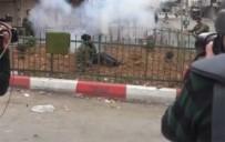 SES BOMBASI - İsrail Askerleri Engelli Gence Ses Bombası Attı