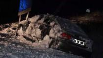 DEREKÖY - Kırklareli'nin Yüksek Kesimlerindeki Yoğun Kar Yağışı