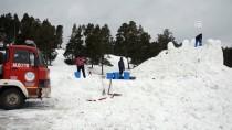 ALLAHUEKBER DAĞLARI - Sarıkamış Şehitlerinin Kardan Heykelleri Yapılıyor