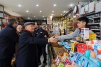YENİMAHALLE BELEDİYESİ - Başkan Fethi Yaşar, Demetevler Esnafına İyi Yıllar Diledi