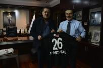 HALIL ÜNAL - Halil Ünal'dan Ahmet Ataç'a Ziyaret