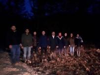 KRATER GÖLÜ - Isparta Ülkü Ocakları'ndan Sokak Hayvanlarına Yardım