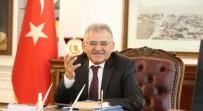 MEMDUH BÜYÜKKıLıÇ - Melikgazi Belediye Başkanı Memduh Büyükkılıç'tan Yeni Yıl Mesajı