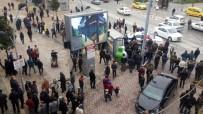 LİNÇ GİRİŞİMİ - Sakarya'da linç girişimi kamerada