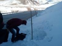 SPOR OYUNLARI - Taşıma Karla Atlama Kuleleri Karlandı