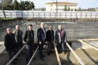 TEMEL KAZISI - Tekkeköy'e Yeni Bir Okul Kazandırılıyor