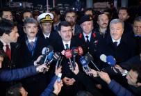 İSTANBUL EMNIYET MÜDÜRÜ - Vali Şahin, Taksim Meydanı'nda İncelemelerde Bulundu
