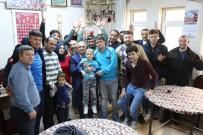 OLİMPİYAT ŞAMPİYONU - Başkan Özkan'dan Engelliler Günü Ziyaretleri