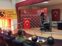 BAYBURT ÜNİVERSİTESİ REKTÖRÜ - Engelli Vatandaşlara Aile Sürprizi
