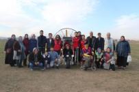 PARAMOTOR - Engelliler Paramotor İle Hayatlarının En Büyük Heyecanını Yaşadılar