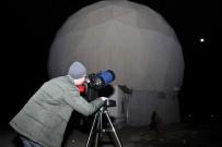 İBRAHIM KÜÇÜK - ERÜ'de Halka Açık Ay Gözlem Etkinliği Düzenlendi