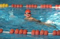 YÜZME YARIŞLARI - Kahramanmaraş'ta Bölgesel Engelliler Yüzme Yarışları