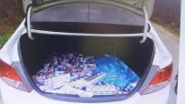 MURSALLı - Kiralık Araçla Market Soyan Hırsızlar Jandarmadan Kaçamadı
