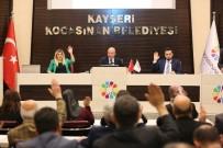 ÖĞRETMENLER GÜNÜ - Kocasinan Meclis Toplantısında Engelli Duyarlılığı