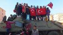 ÖZEL HAREKET - Malazgirtli Çocuklar Zırhlı Araçlara Bindi