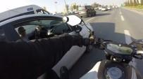 KURAL İHLALİ - Motosikletli Trafik Magandası !