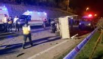 Ordu'da Trafik Kazası Açıklaması 4 Ölü, 2 Yaralı