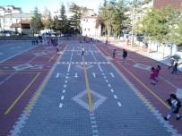 Seydişehir Belediyesinden Okullara Trafik Parkuru
