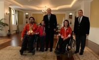 BEDENSEL ENGELLİ - Vali Azizoğlu'ndan Şampiyon Sporcuya Büyük İlgi