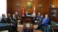 FATİN RÜŞTÜ ZORLU - Ziraat Odası Başkanları 'Tütün' Konusunu Görüştü