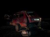 20 Metre Yükseklikten Yolu Düşen Otomobilin Sürücüsü Hayatını Kaybetti