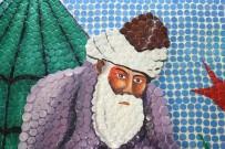 TÜRKÇE ÖĞRETMENI - 5 Bin Şişe Kapağıyla Mevlana'nın Mozaik Tablosunu Yaptılar