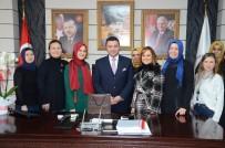 AK Parti Kadın Kollarından Başkan Bakıcı'ya Teşekkür Ziyareti