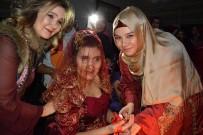 KıNA GECESI - Aksaray'da Engelli Genç Kızlara Özel Kına Gecesi