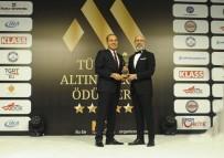 HÜSEYIN SÖZLÜ - Altın Marka Ödülleri'nde Yılın Büyükşehir Belediye Başkanı Ödülü Hüseyin Sözlü'nün