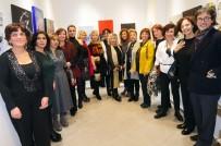 RESIM SERGISI - Ankaralı Sanatçı Kadınlar Derneği, Paris'te Resim Sergisi Açtı
