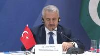 EKONOMİK İŞBİRLİĞİ TEŞKİLATI - Bakan Arslan Bakü'de Konuştu