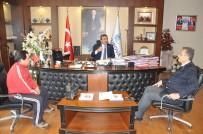 İZCILIK FEDERASYONU - Başkan Çetin'e Teşekkür Ziyareti