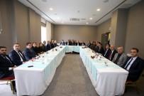 SAKARYA VALİSİ - Başkan Toçoğlu, Değerlendirme Toplantısına Katıldı