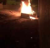 YAHYALAR - Başkent'te Çalıntı Otomobili Ateşe Verdiler