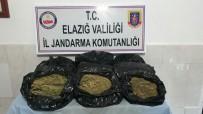 Elazığ'da 12 Kilo Esrar Ele Geçirildi