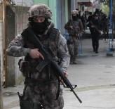 Gaziantep'te PKK operasyonu kamerada: 16 gözaltı