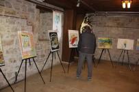 Kuşadası'nda Turizm Karikatürleri Sergisi Açıldı