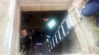KıŞLA - Kuyuya Düşen Belediye Personeli Kurtarıldı