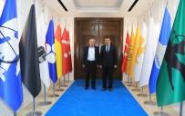 Milletvekili Şahin'den Battalgazi Belediyesine Hayırlı Olsun Ziyareti