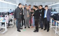 PEYAMİ BATTAL - Rektör Battal Ve Senato Üyelerinden Tekstilkente Ziyaret